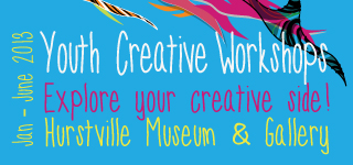 Youth Creative Workshops - Hurstville Museum & Gallery